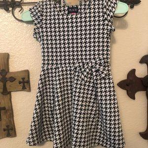 Girls Houndstooth Dress Sz6/6x